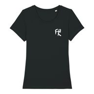 Damen T-Shirt Rundhals Bio+Fairwear (black)