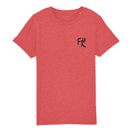 Kinder T-Shirt Bio+Fairwear (mid heather red)