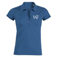 Damen-Poloshirt (royal, Bio)