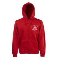 Hooded Sweat Jacket (rot)