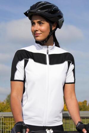 Ladies' Bike Full Zip Top