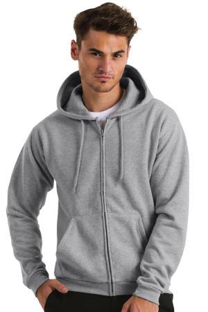 Hooded Full Zip Sweatshirt Unisex - WUI25