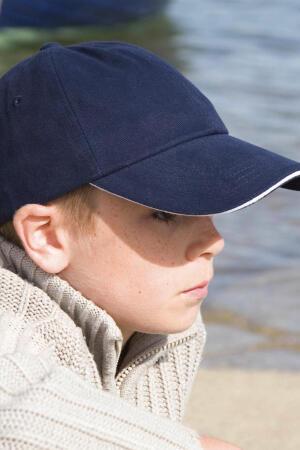 Kids Brushed Cotton Cap