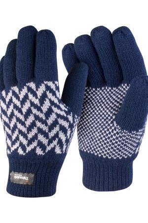 Pattern Thinsulate Handschuhe