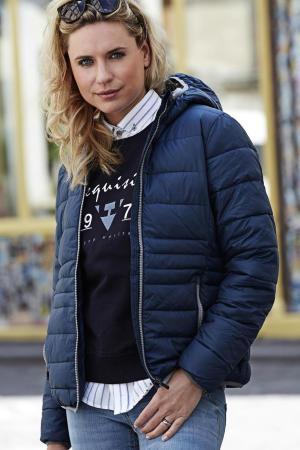 Ladies Hooded Zepelin Jacket