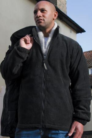 3-in-1-Jacke mit Fleece