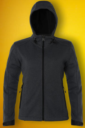 Ladies Knitted Bonded Softshell
