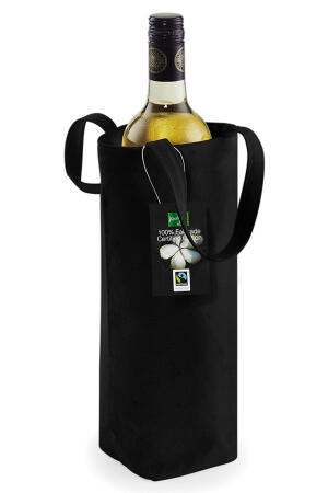 Fairtrade Cotton Bottle Bag natur