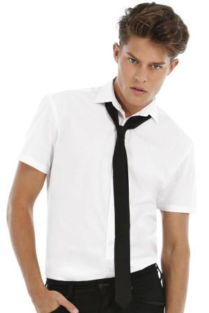 Popelin Hemd mit Elasthan-Anteil