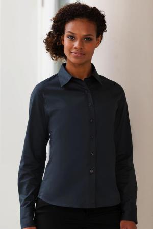 Ladies Classic Twill Shirt LS