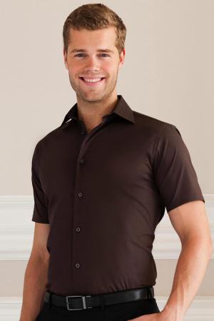 Tailliertes Stretch-Hemd