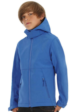 Kids' Hooded Softshell