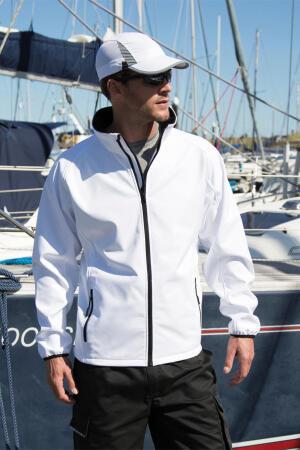 Bedruckbare Soft Shell Jacke