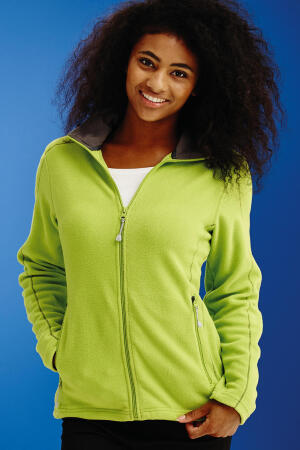 Womens Adamsville Full Zip Fleece Jacket
