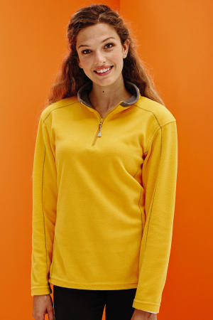 Womens Ashville Half Zip Fleece