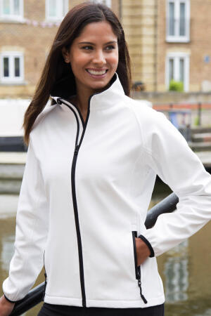 Bedruckbare Damen Soft Shell Jacke
