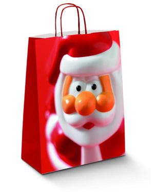 Weihnachtstasche Nikolaus (320x140x420 mm)