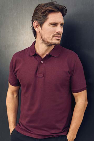 Men's Single Jersey Polo