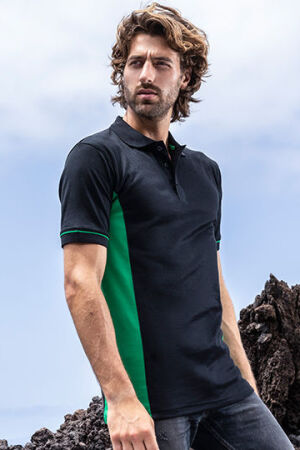Men's Function Contrast Polo