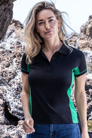 Women's Function Contrast Polo
