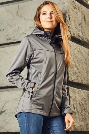 Women's Hoody Softshell Jacket