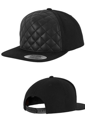 Diamond Quilted Snapback