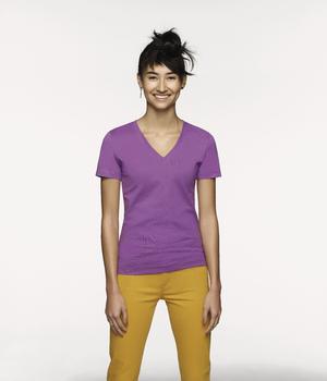 Women-V-Shirt Classic