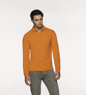 Longsleeve-Poloshirt Performance