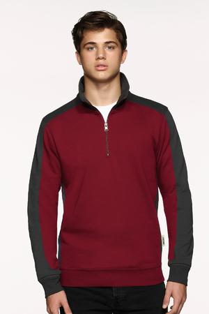 Zip-Sweatshirt Contrast Performance