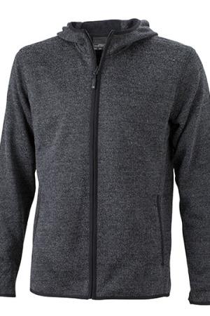 Men´s Knitted Fleece Hoody
