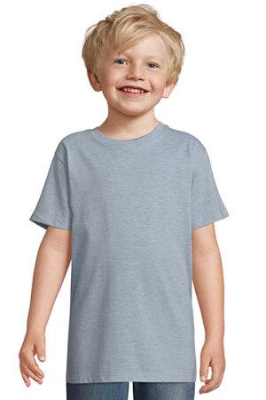 Kids Round Collar T-Shirt Regent Fit