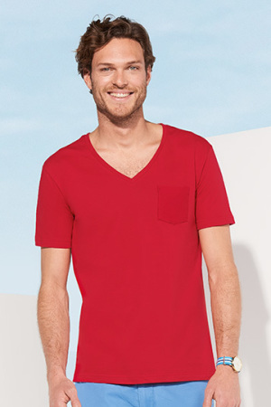 Mens Mad V-Neck T-Shirt