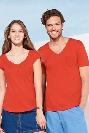 Womens Mod V-Neck T-Shirt