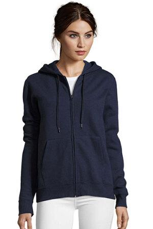 Women Hooded Zipped Jacket Seven Women