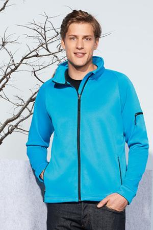 Mens Fleece Raglan Jacket New Look