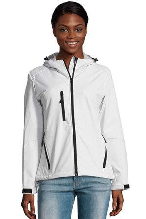 Womens Hooded Softshell Jacket Replay