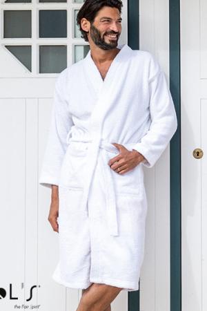 Unisex Kimono Collar Bathrobe Pacha