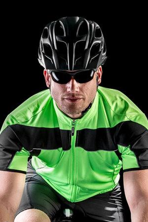 Mens Bikewear Full Zip Performance Top