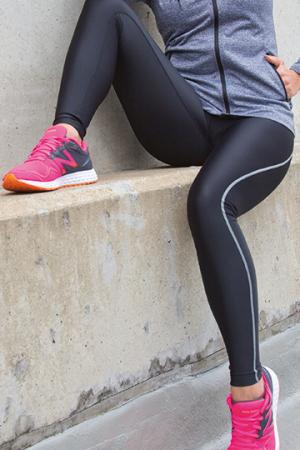 Ladies Bodyfit Base Layer Leggings