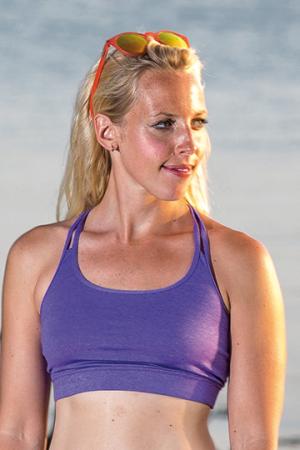 Fitness Womens Crop Top
