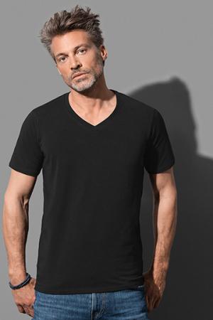 Deep V-Neck T-Shirt Dean