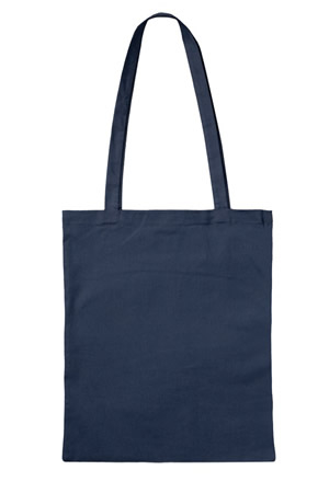Bio-Baumwoll-Tasche Henkel lang