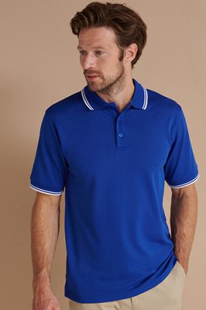 Men's Coolplus® Short Sleeved Tipped_x000d_Polo Shirt