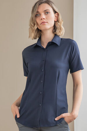 Ladies Wicking Short Sleeve Shirt