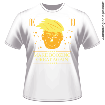 Abschlussmotiv I148 - Make boozing great again