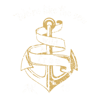 Abschlussmotiv I132 - We're like the sea wild & free
