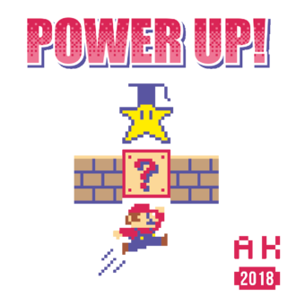Abschlussmotiv F32 - Power Up!