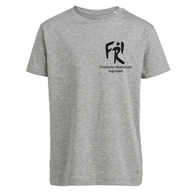 Kinder T-Shirt Bio+Fairwear (heather grey)