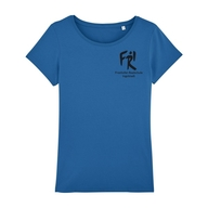 Damen T-Shirt Rundhals Bio+Fairwear (royal blue)