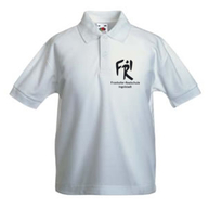 Kinder Polo-Shirt (weiß)